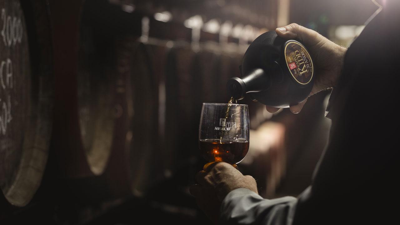Capitán Kidd Rum sample. Picture by Destilerías Arehucas