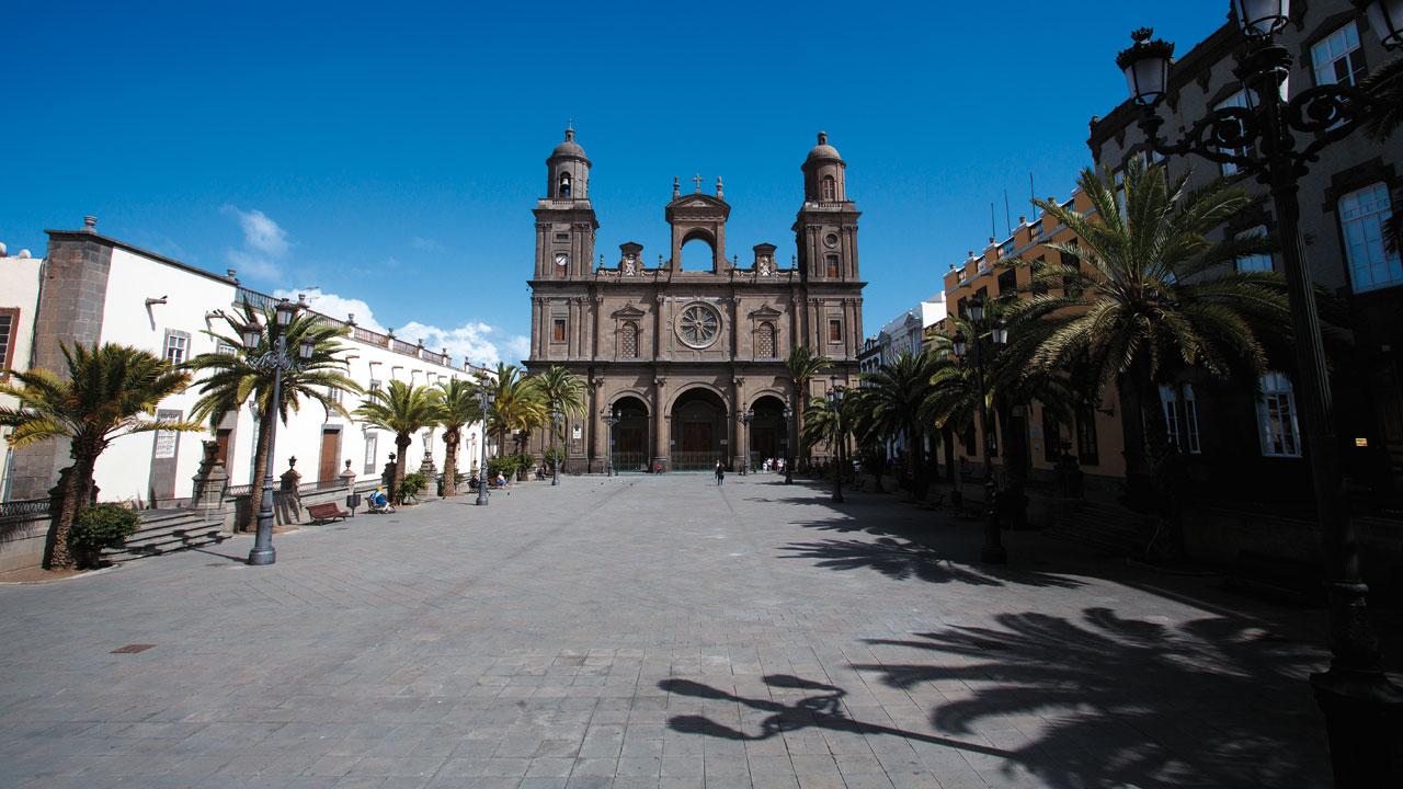 Cathedral and Plaza de Santa Ana, Vegueta, Las Palmas de Gran Canaria