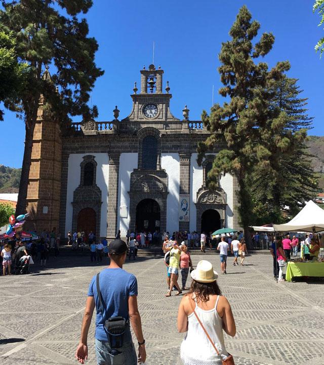Domingo en Teror, Gran Canaria