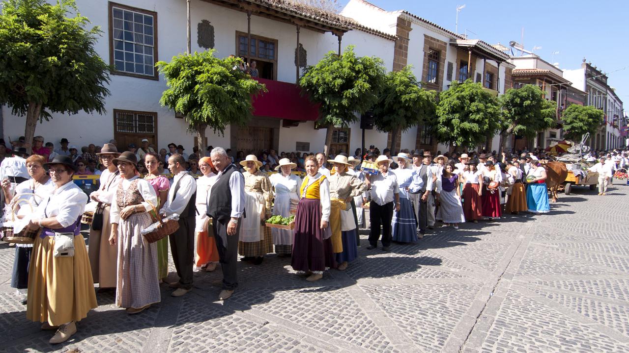 Romería Ofrenda a Nuestra Señora del Pino. Teror, Gran Canaria
