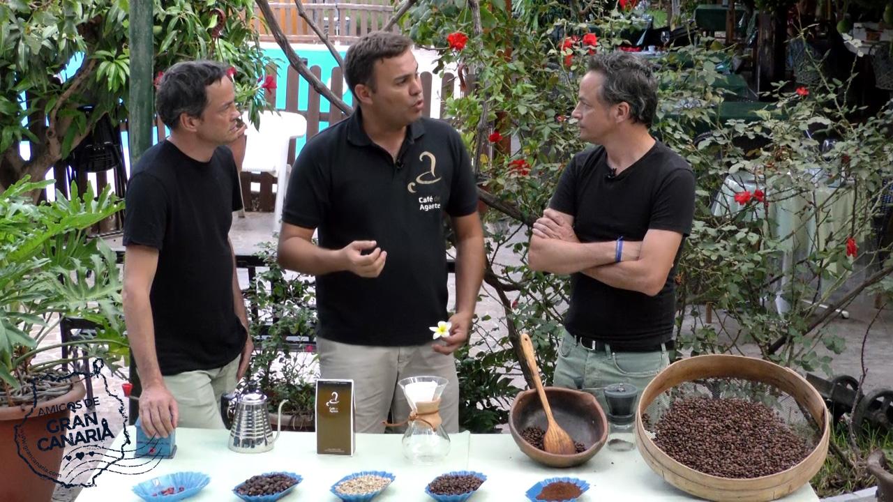 Los cocineros y Hermanos Torres reciben información sobre el cultivo del Café en Gran Canaria