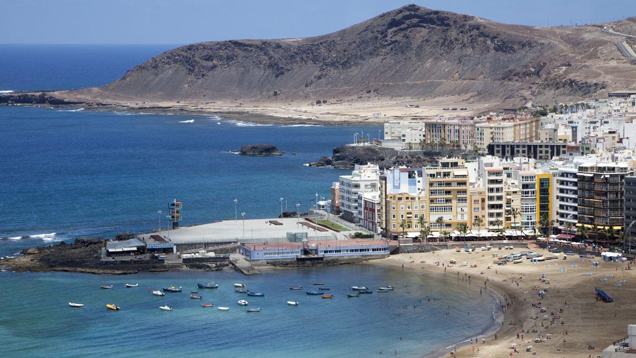La Puntilla, Playa de Las Canteras