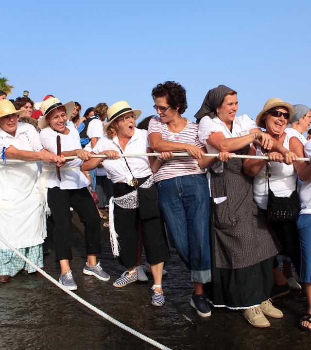 Fiesta de La Vará del Pescao. Agüimes, Gran Canaria
