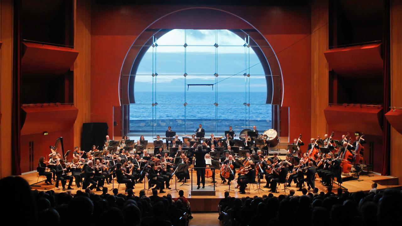 Orquesta Filarmónica de Gran Canaria en el Auditorio Alfredo Kraus