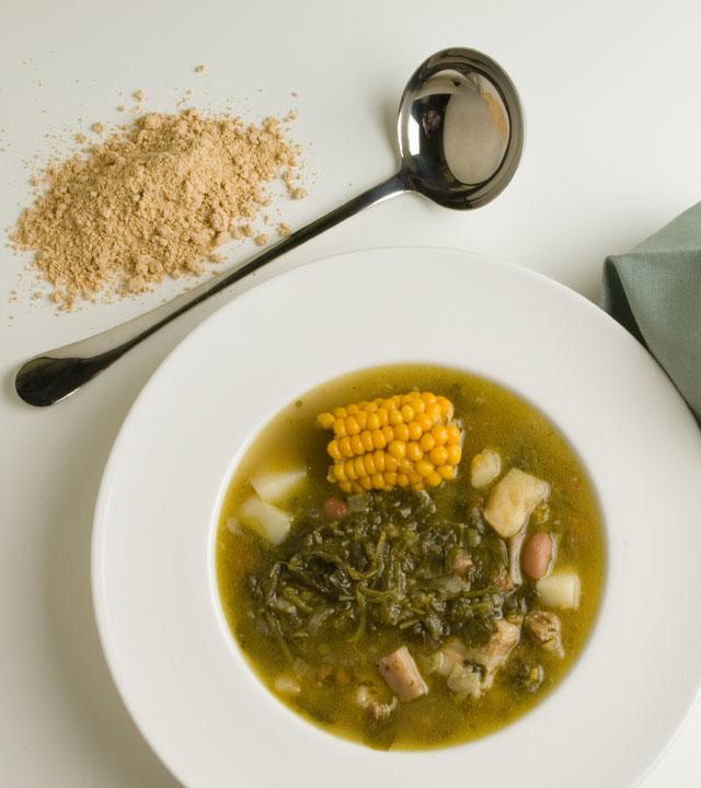 Plato de Potaje de Berros. Gastronomía canaria