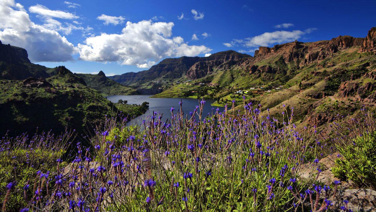 Staudamm von Soria, Mogán, Gran Canaria