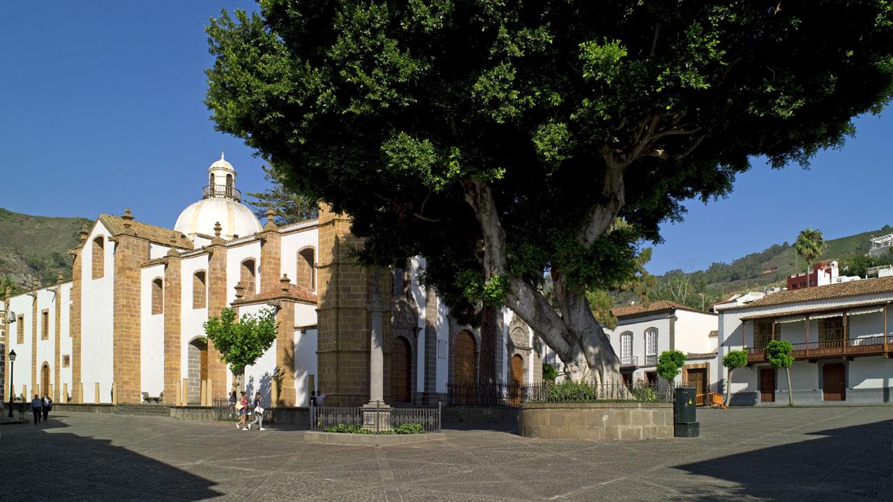 Basílica de Nuestra Señora del Pino en Teror, Gran Canaria