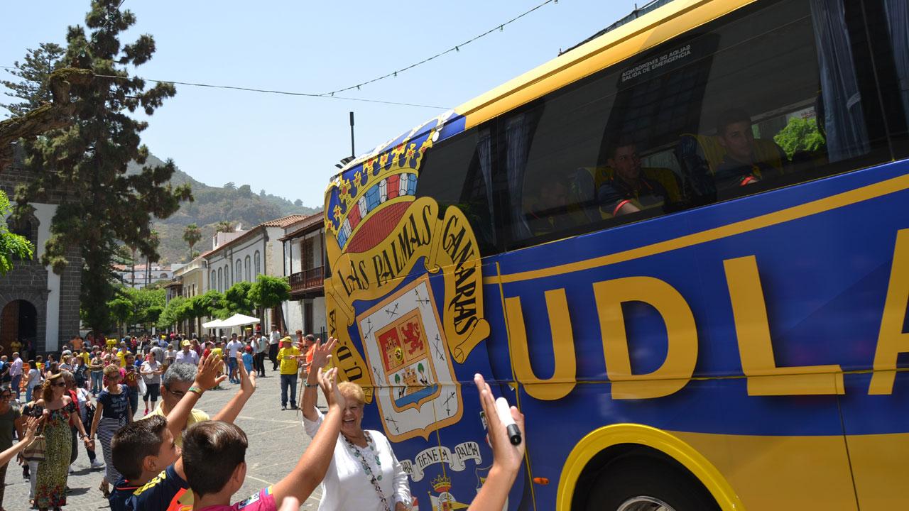 La UD Las Palmas visita Teror