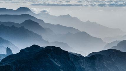 Gran Canaria's summit