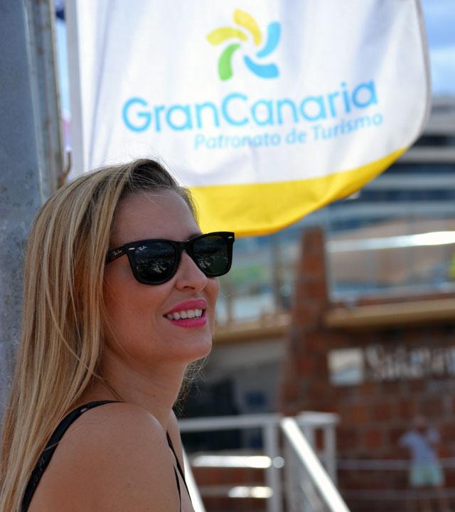 Lara Martín Gilarranz en Gran Canaria