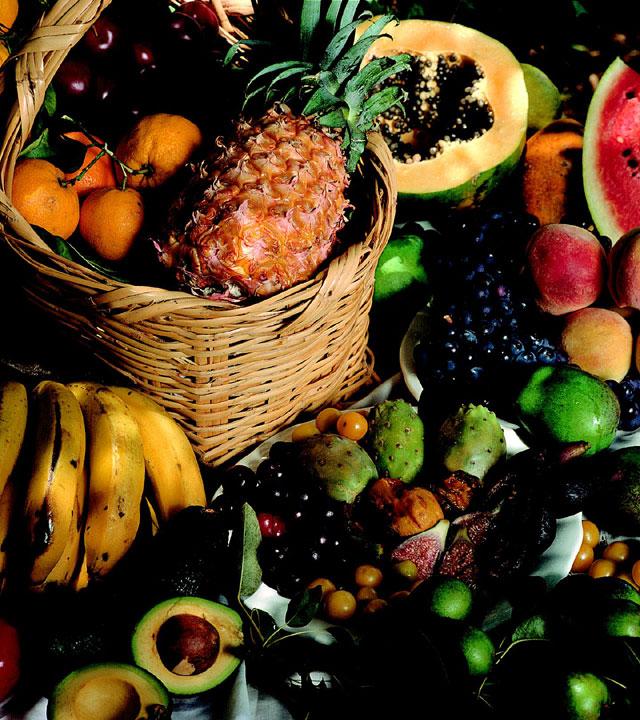 Bodegón de fruta y verdura
