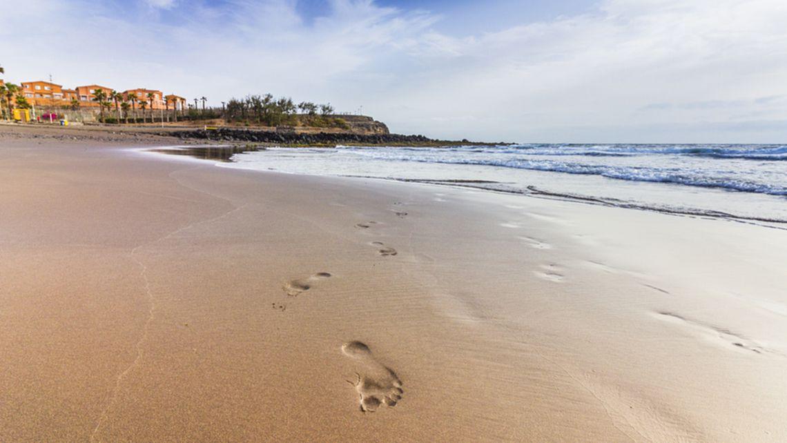Strand von Hoya del Pozo in Telde