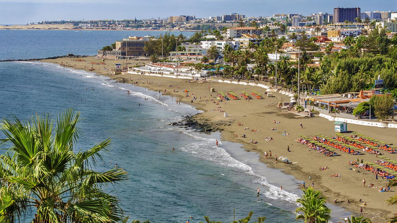 San Agustín beach