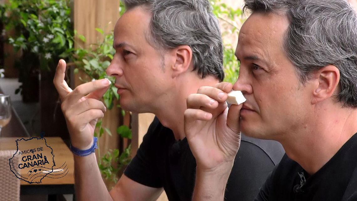 Los cocineros y Hermanos Torres realizan una degustación de quesos de Gran Canaria