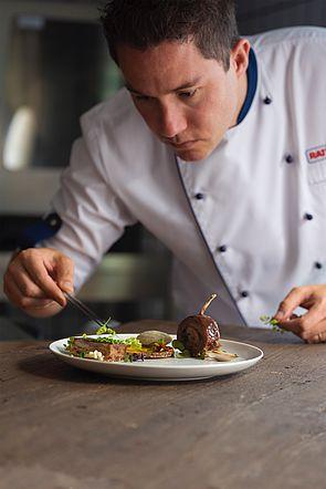 Chef Juan Santiago