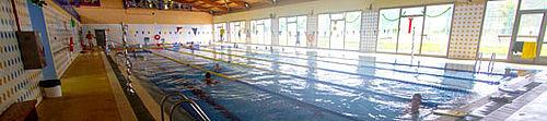 The swimming pool at the Santa Brígida Municipal Sports Club