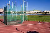 Athletics Track at the Vecindario Municipal Stadium