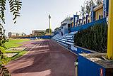 Athletics track at the Ciudad Deportiva Gran Canaria (Martín Freire) Sports Centre