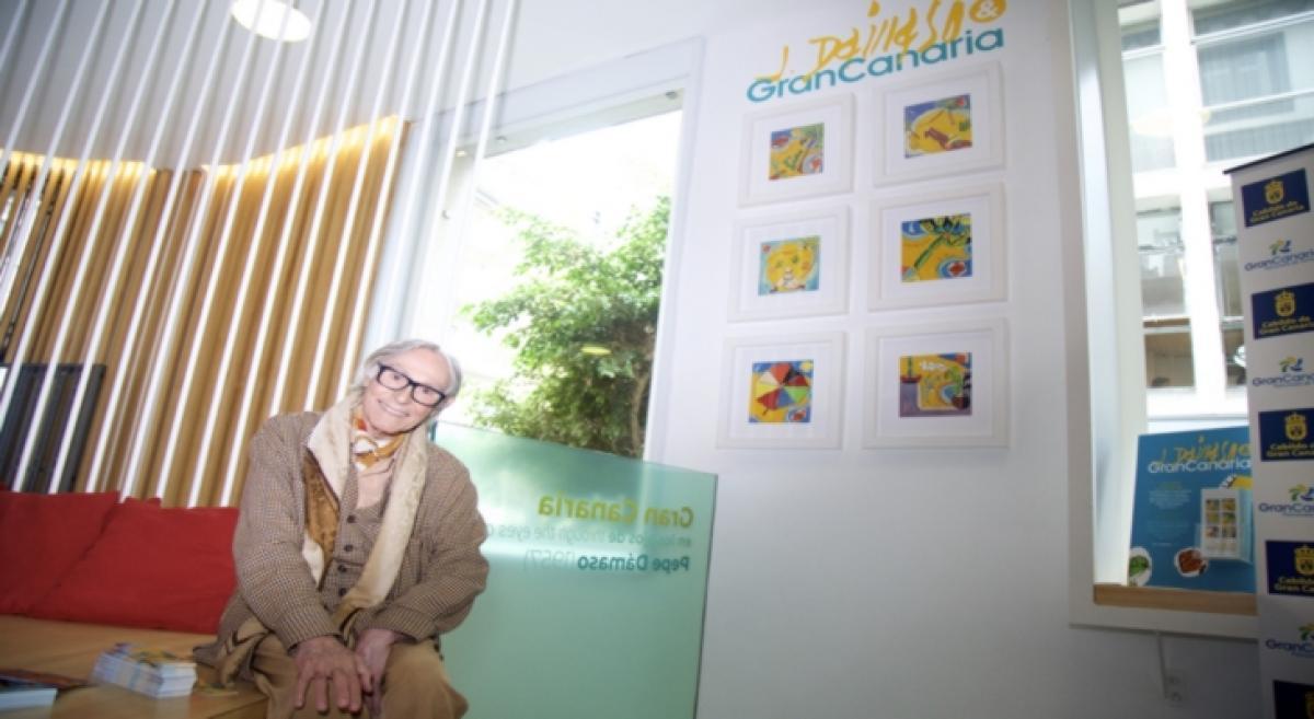 "Exhibition ""Gran Canaria en los ojos de Pepe Dámaso"" (Gran Canaria through the eyes of Pepe Dámaso)"