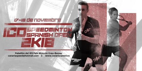 ICO Speedminton Spanish Open 2018