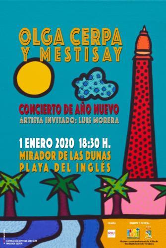 Concierto de Año Nuevo - Olga Cerpa y Mestisay