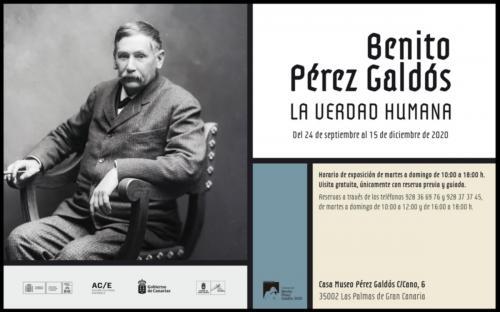 Expositie: Benito Pérez Galdós - La verdad humana