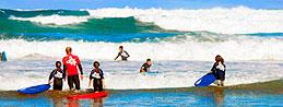 Impara a fare surf