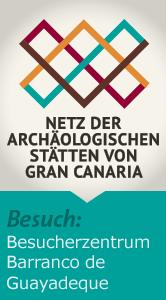 Archäologischen Stätten: Besucherzentrum Barranco de Guayadeque