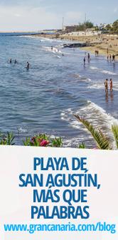 Playa de San Agustín, más que palabras