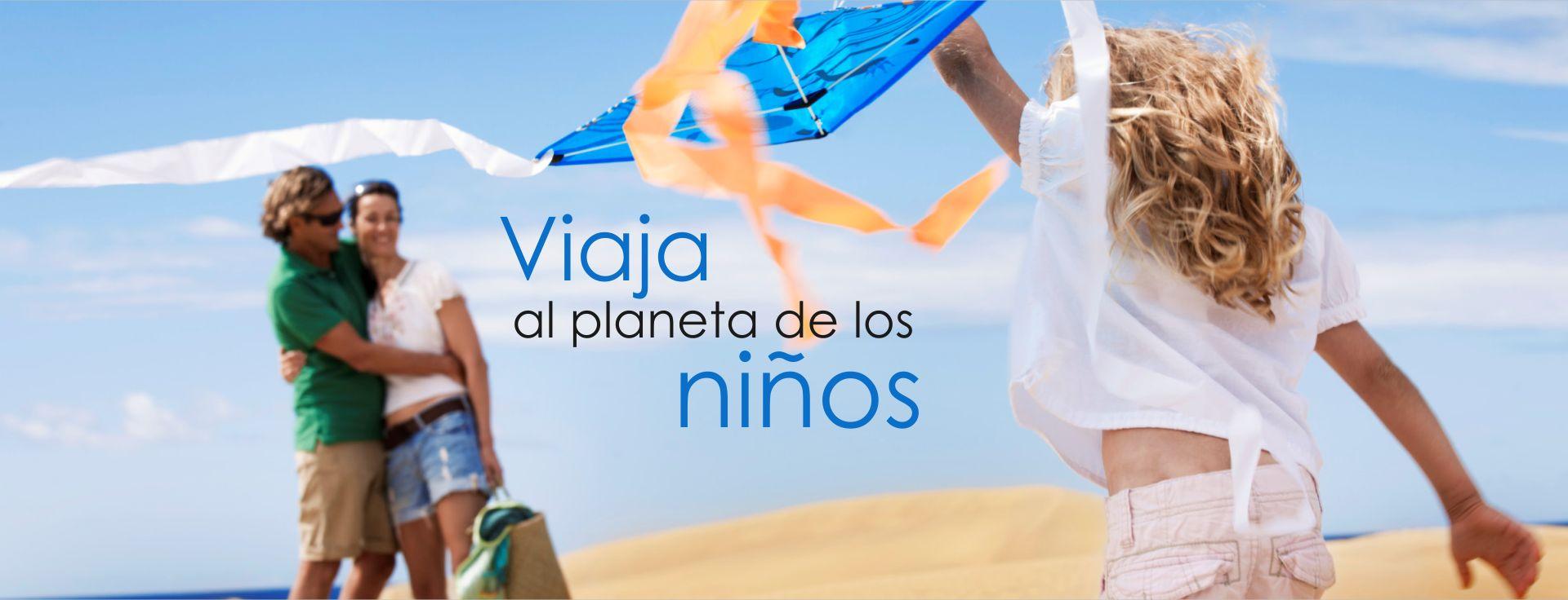 Viaja al Planeta de los niños