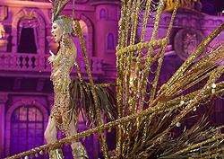 A Carnival Queen Contestant at the Carnaval in Las Palmas de Gran Canaria