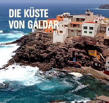 Die Küste von Gáldar