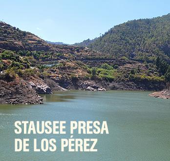 Stausee Presa de los Pérez