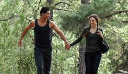 Gute Laune: Paar in Tamadaba