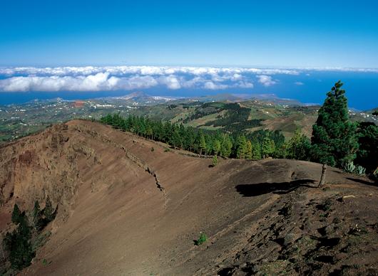 Vy från utsiktsplatsen Los Pinos de Gáldar