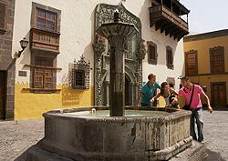 Plaza del Pilar Nuevo en Vegueta