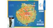 Mapa de alojamientos de Gran Canaria Natural