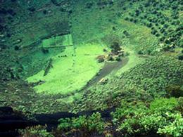 Blick auf den Bandama-Krater