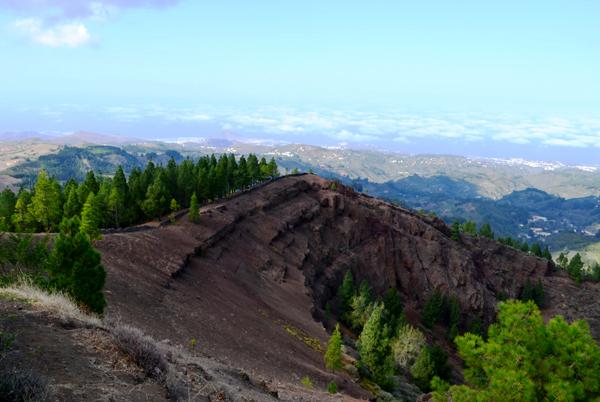 [] Paisaje del interior de Gran Canaria