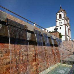 Chiesa e Fontana ad Ingenio