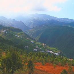 Paesaggio di Firgas