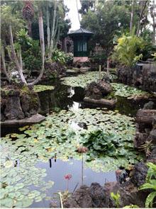 Teich im Garten der Marquise