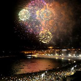 Notte di San Giovanni nella spiaggia di Las Canteras