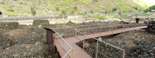 Maipés i Agaete. Arkeologisk park.
