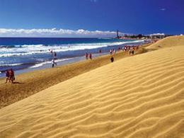 Strandspaziergang in Maspalomas
