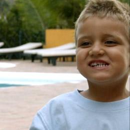 Kid smilingq