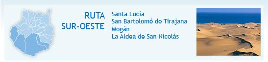 Percurso Sul-Oeste: Santa Lucía, San Bartolomé de Tirajana, Mogán y La Aldea de San Nicolás. Foto: Dunas de Maspalomas (San Bartolomé de Tirajana)