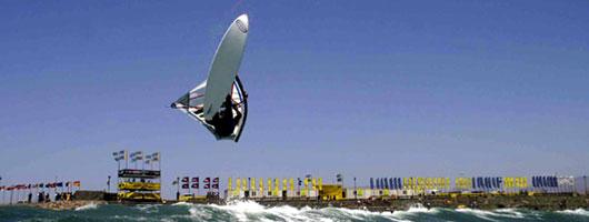 Windsurfing at Pozo Izquierdo