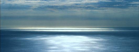 Panoramica dell'oceano Atlantico