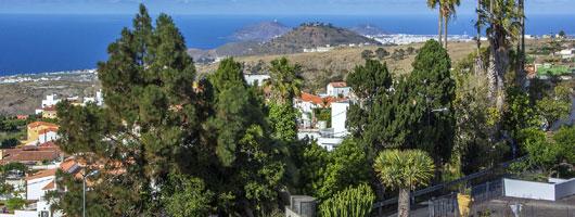 Vy från utsiktsplatsen Plaza de San Roque